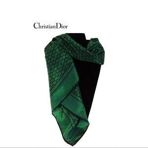 Christian Dior (Authentic) 100% Silk Scarf